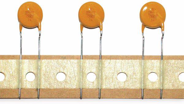 Varistor Metalloxid 100 mW, 25 V~, RM7,5