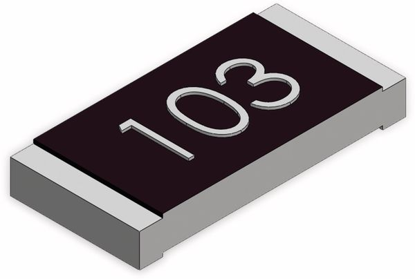 SMD-Chipwiderstand, 0805, 470K, 1%, 25 Stück