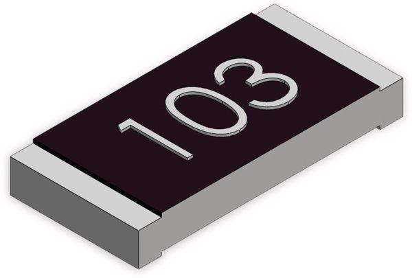 SMD-Chipwiderstand, 1206, 100R, 1%, 25 Stück