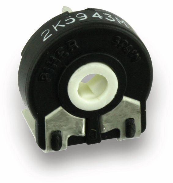 Potentiometer PIHER PT15LV02, 15 mm, 2K5, lin, 0,25 W