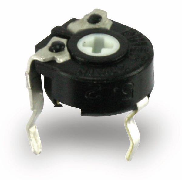 Potentiometer PIHER PT6KV, 6 mm, 5 M, lin, 0,1 W