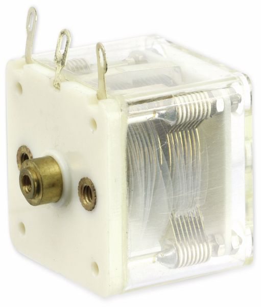 Drehkondensator, 2x 10...390 pF - Produktbild 1