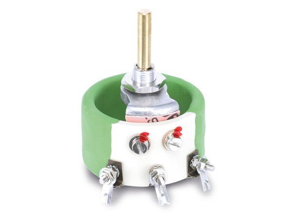Potentiometer KRAH D55/40W-22R-10%, 22 Ω, lin - Produktbild 1