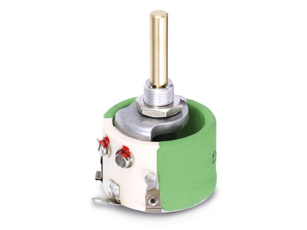 Potentiometer KRAH D32/10W-100R-10%, 100 Ω, lin - Produktbild 1