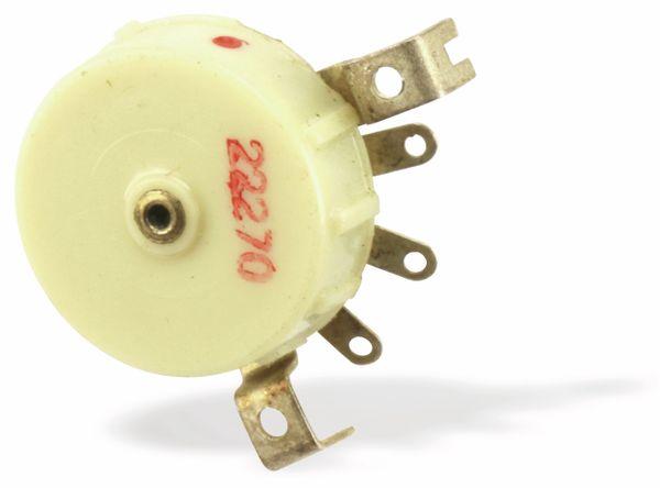 Radio-Potentiometer mit Schalter RFT/ELRADO, 5K2, log - Produktbild 2