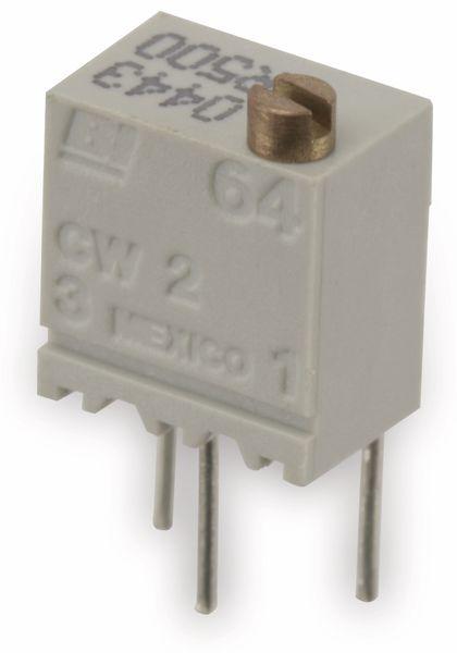 Spindeltrimmer BI 64WR500, 500 Ω - Produktbild 1