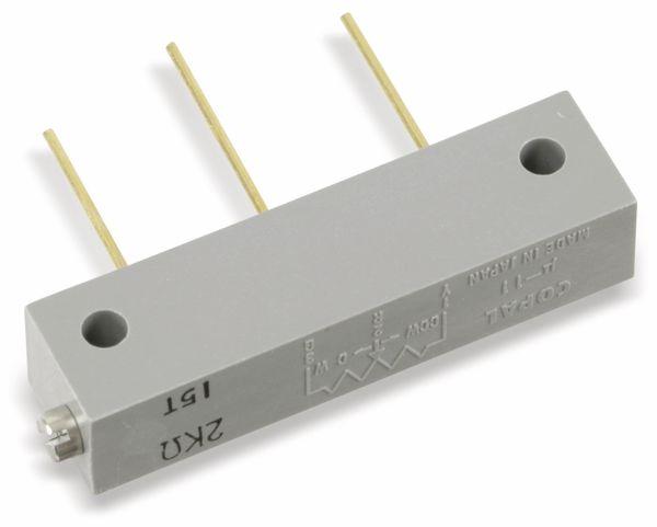 Draht-Spindeltrimmer COPAL 1211P (µ-11), 2K, 15T