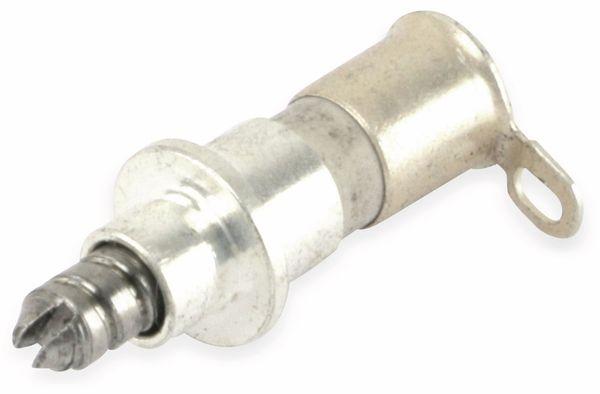 Einlöt-Trimmkondensator 78503800, 3,5pF, versilbert - Produktbild 1