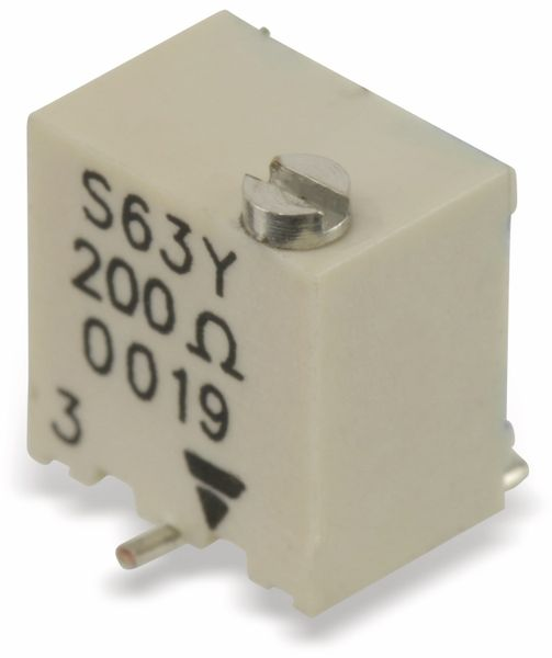 SMD Spindeltrimmer VISHAY TS63, 200R - Produktbild 1
