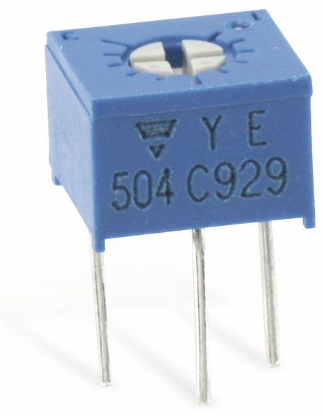 Trimm-Potentiometer VISHAY T73YE, 500K