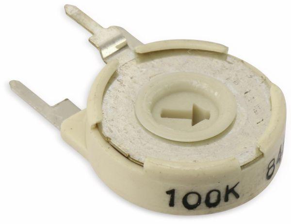 Cermet Potentiometer PIHER PTC-15LH05, 100K, lin - Produktbild 1