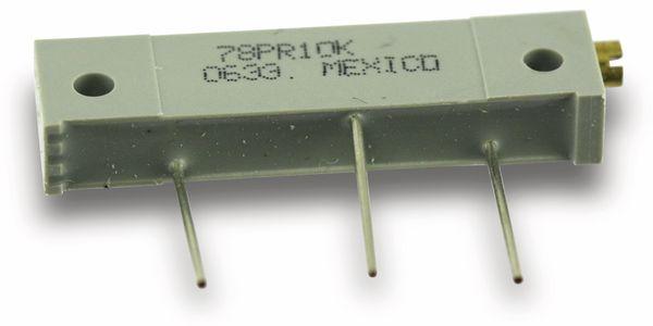 Spindeltrimmer BI 78PR, 10 R, 10 %, 1 W