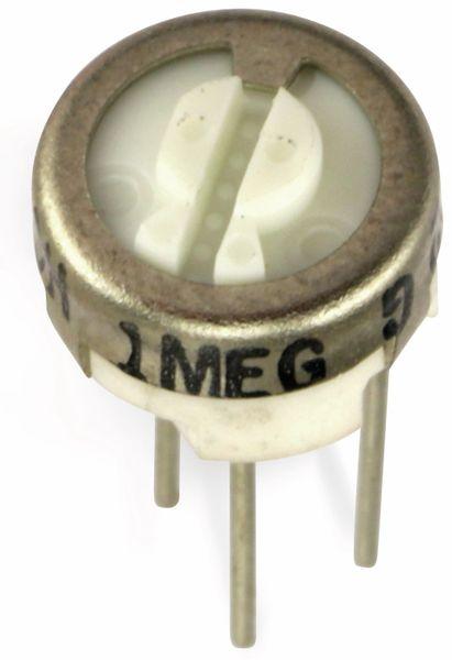 Trimm-Potentiometer BOURNS 3329H Trimpot, 1M - Produktbild 2