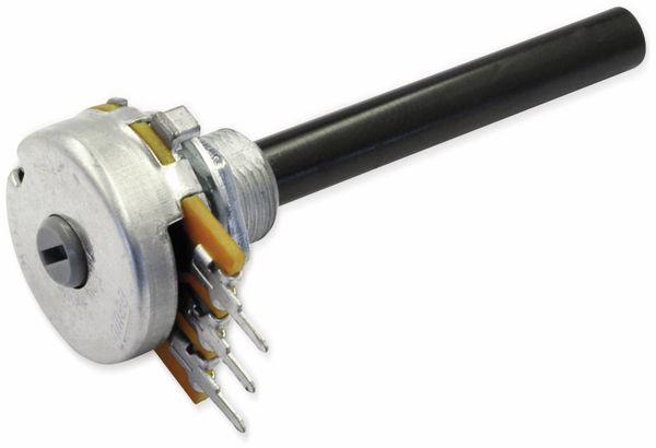 Potentiometer OMEG PC20BU, 470 kΩ, logarithmisch