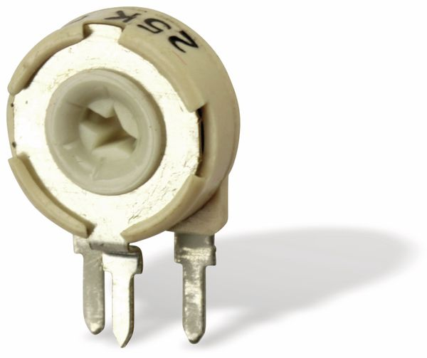 Potentiometer PIHER PTC10LH01, 10 mm, 25K, lin, 0,33 W - Produktbild 1