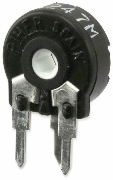 Potentiometer PIHER PT10MH01, 10 mm, 100 K, lin, 0,15 W - Produktbild 1