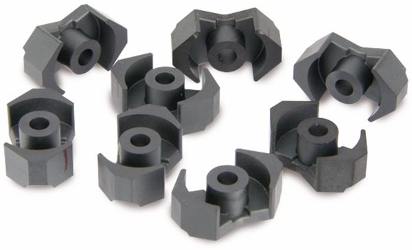 Ferrit-Kernsätze EPCOS, RM6, N48, 10 Sätze - Produktbild 1