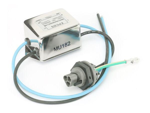 Netz-Entstörfilter EPCOS B84142A0022C149, 250 V~, 22 A