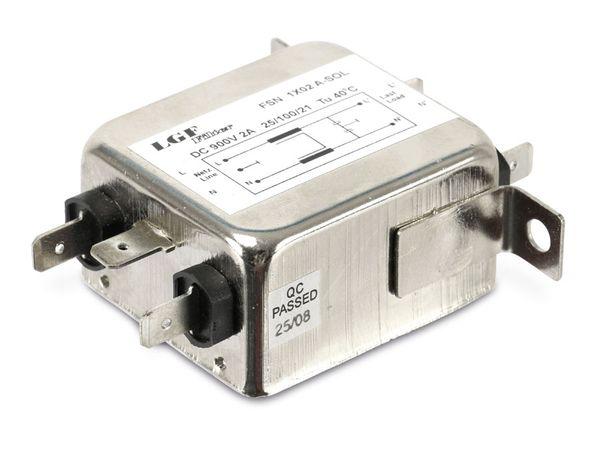 Gleichstrom-Netzfilter LGF FILTER FSN 1X02 A-SOL - Produktbild 1