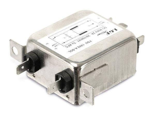 Gleichstrom-Netzfilter LGF FILTER FSN 1X02 A-SOL - Produktbild 2