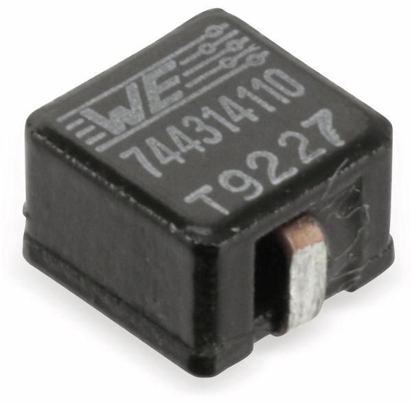 SMD Hochstrom-Induktivität WÜRTH ELEKTRONIK 744314110 - Produktbild 1