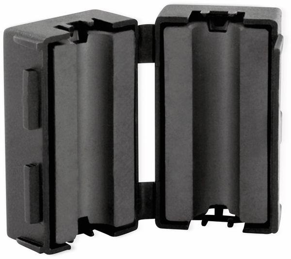Klappferrit, Entstörfilter RF75 200 Ω für Kabeldurchmesser 6,5 mm (Max.)