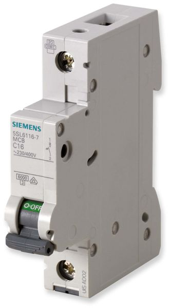 Leitungsschutzschalter SIEMENS 5SL6125-6, B 25A