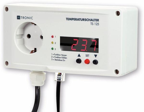 Temperaturregler-Steckdose H-TRONIC TS125