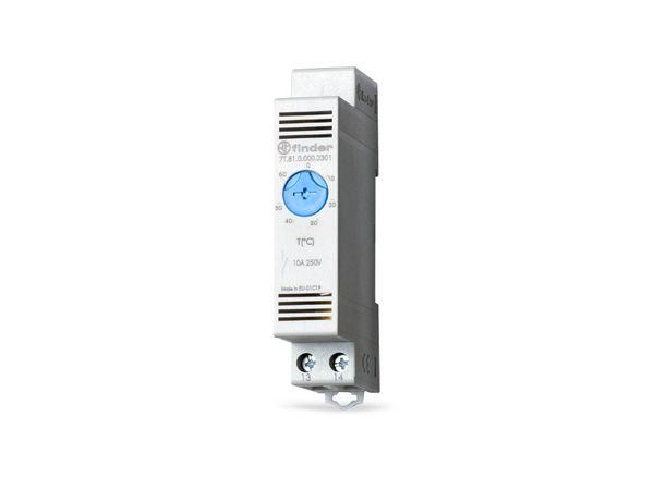 Schaltschrank-Thermostat FINDER 7T.81.0.000.2301, -20...40 °C, NO