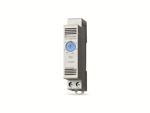 Schaltschrank-Thermostat FINDER 7T.81.0.000.2303, 0...60 °C, NO
