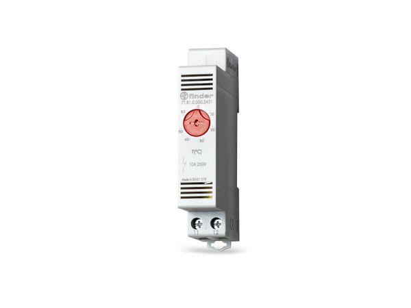 Schaltschrank-Thermostat FINDER 7T.81.0.000.2401, -20...40 °C, NC