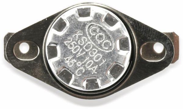 Thermoschalter, KSD 301, 45 °C, 10 A/250 V~, Schließer - Produktbild 7