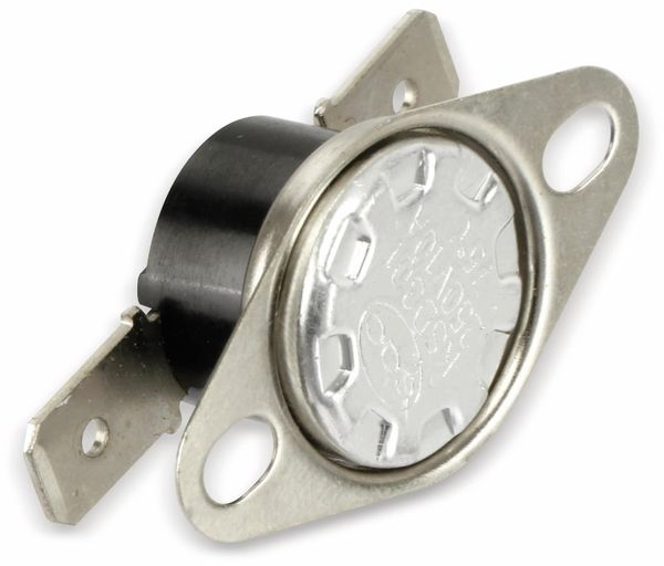 Thermoschalter, KSD 301, 50 °C, 10 A/250 V~, Schließer - Produktbild 1