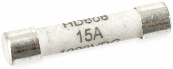 G-Sicherung, 6,3x32, 15 A, 1000 V, superflink
