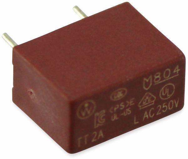 Sicherung LITTELFUSE TE804, 2A/TT, RM7,5 - Produktbild 2