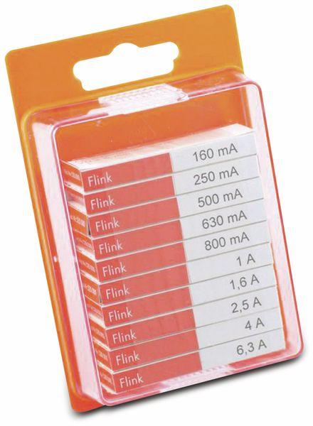 Feinsicherung-Sortiment ,ESKA, 120900, (Ø x L) 5 mm x 20 mm Flink -F- Inhalt 100 St.