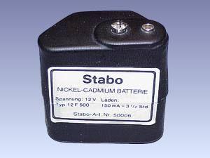 NiCd-Akku-Block Stabo 12F500
