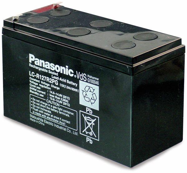 Bleiakkumulator PANASONIC LC-R127R2PG