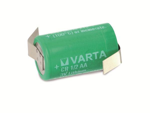Lithium-Batterie mit Lötfahnen VARTA CR1/2AA, 3 V-, 950 mAh - Produktbild 2