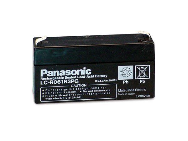 Bleiakkumulator PANASONIC LC-R061R3PG - Produktbild 1