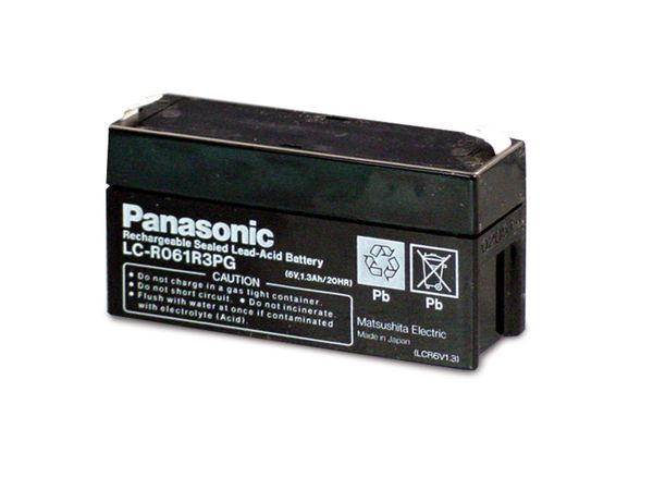 Bleiakkumulator PANASONIC LC-R061R3PG - Produktbild 2