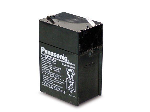 Bleiakkumulator PANASONIC LC-R064R5PG - Produktbild 1