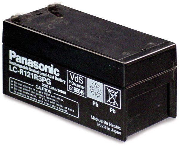 Bleiakkumulator PANASONIC LC-R121R3PG