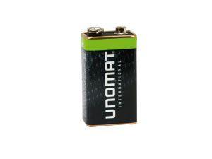 9 V-Blockbatterie UNOMAT