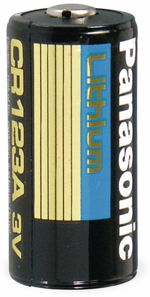 Lithium-Fotobatterie CR123A