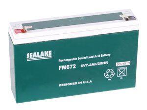 Blei-Akkumulator SEALAKE FM672