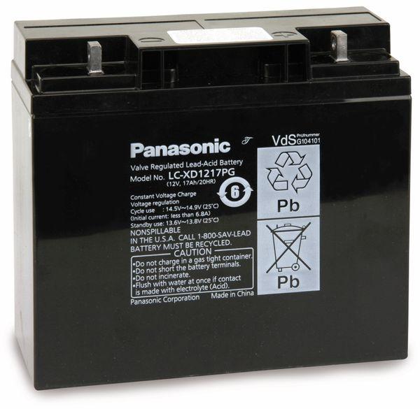 Bleiakkumulator PANASONIC LC-XD1217P