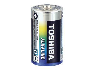 Mono-Batterie-Set Toshiba Alkaline