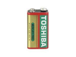 9 V Block-Batterie Toshiba Zink-Kohle
