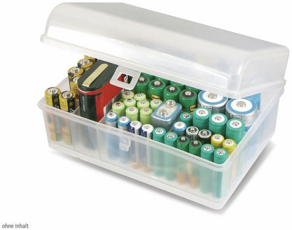 Batterie-Box, 10 Fächer